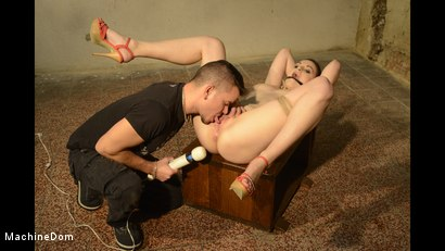 Photo number 4 from Alice Bound Naked, Cleave-Gagged, and Vibed shot for Machine Dom on Kink.com. Featuring Alice Nice and Richy in hardcore BDSM & Fetish porn.
