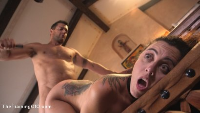 Photo number 8 from Shy College Slut, Roxanne Rae, Gets Ass Fucked in Tight Rope Bondage!! shot for The Training Of O on Kink.com. Featuring Ramon Nomar and Roxanne Rae in hardcore BDSM & Fetish porn.