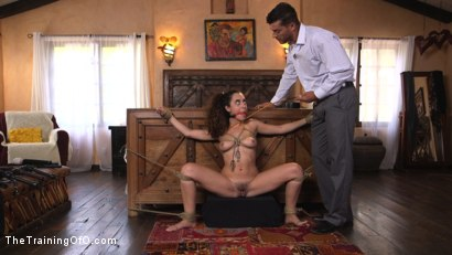 Photo number 3 from Shy College Slut, Roxanne Rae, Gets Ass Fucked in Tight Rope Bondage!! shot for The Training Of O on Kink.com. Featuring Ramon Nomar and Roxanne Rae in hardcore BDSM & Fetish porn.