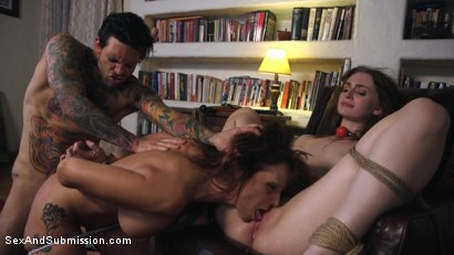 Photo number 6 from Homewrecker 1: Mom's Worst Nightmare shot for Sex And Submission on Kink.com. Featuring Small Hands, Syren de Mer and Maya Kendrick in hardcore BDSM & Fetish porn.