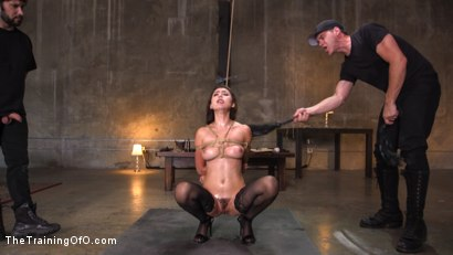 Photo number 8 from Training a Pain Slut: Busty Melissa Moore's First Submission shot for The Training Of O on Kink.com. Featuring Tommy Pistol and Melissa Moore in hardcore BDSM & Fetish porn.