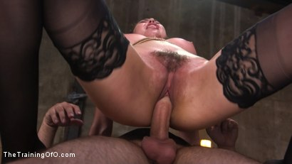 Photo number 11 from Training a Pain Slut: Busty Melissa Moore's First Submission shot for The Training Of O on Kink.com. Featuring Tommy Pistol and Melissa Moore in hardcore BDSM & Fetish porn.