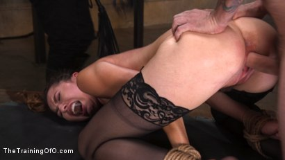 Photo number 14 from Training a Pain Slut: Busty Melissa Moore's First Submission shot for The Training Of O on Kink.com. Featuring Tommy Pistol and Melissa Moore in hardcore BDSM & Fetish porn.