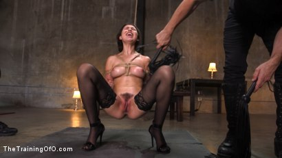 Photo number 4 from Training a Pain Slut: Busty Melissa Moore's First Submission shot for The Training Of O on Kink.com. Featuring Tommy Pistol and Melissa Moore in hardcore BDSM & Fetish porn.