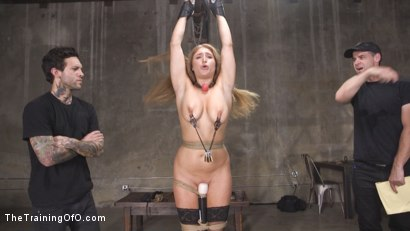 Photo number 5 from Newbie Skylar Snow Endures and Indulges  shot for The Training Of O on Kink.com. Featuring Skylar Snow  and Small Hands in hardcore BDSM & Fetish porn.