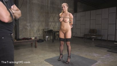 Photo number 15 from Newbie Skylar Snow Endures and Indulges  shot for The Training Of O on Kink.com. Featuring Skylar Snow  and Small Hands in hardcore BDSM & Fetish porn.