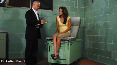 Photo number 1 from The English Doctor Has His Way With Daisy Marie shot for Fucked and Bound on Kink.com. Featuring Daisy Marie and Ben English in hardcore BDSM & Fetish porn.