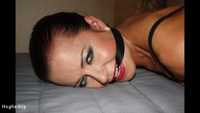 Photo number 7 from Cindy Hogtied, Cleave-Gagged, And Stripped shot for Hogtied Up on Kink.com. Featuring Cindy Dollar and Ar in hardcore BDSM & Fetish porn.