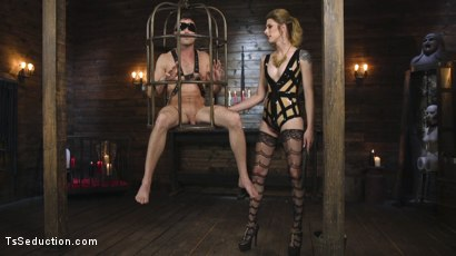Photo number 1 from Tall Stunning TS Mistress Casey Kisses  shot for TS Seduction on Kink.com. Featuring Lance Hart and Casey Kisses in hardcore BDSM & Fetish porn.