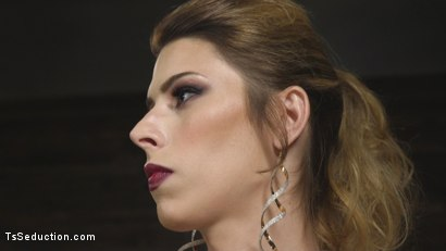 Photo number 2 from Tall Stunning TS Mistress Casey Kisses  shot for TS Seduction on Kink.com. Featuring Lance Hart and Casey Kisses in hardcore BDSM & Fetish porn.