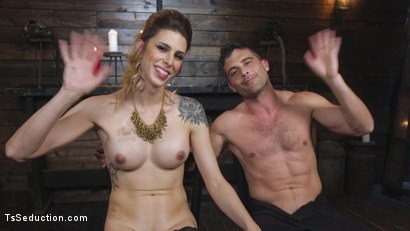 Photo number 31 from Tall Stunning TS Mistress Casey Kisses  shot for TS Seduction on Kink.com. Featuring Lance Hart and Casey Kisses in hardcore BDSM & Fetish porn.