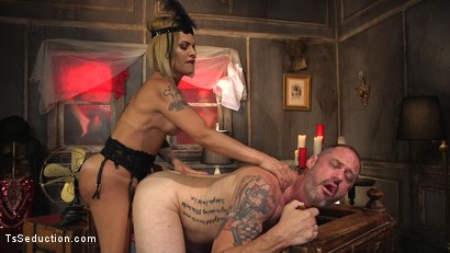 Photo number 11 from TS Foxxy Teases and Fucks D Arclyte shot for TS Seduction on Kink.com. Featuring TS Foxxy and D. Arclyte in hardcore BDSM & Fetish porn.