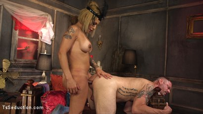 Photo number 13 from TS Foxxy Teases and Fucks D Arclyte shot for TS Seduction on Kink.com. Featuring TS Foxxy and D. Arclyte in hardcore BDSM & Fetish porn.