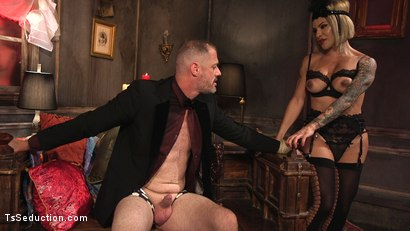 Photo number 17 from TS Foxxy Teases and Fucks D Arclyte shot for TS Seduction on Kink.com. Featuring TS Foxxy and D. Arclyte in hardcore BDSM & Fetish porn.