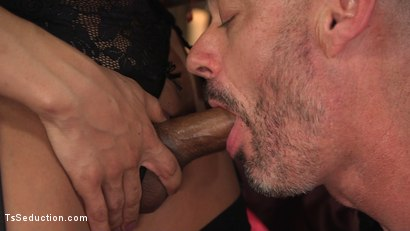Photo number 4 from TS Foxxy Teases and Fucks D Arclyte shot for TS Seduction on Kink.com. Featuring TS Foxxy and D. Arclyte in hardcore BDSM & Fetish porn.