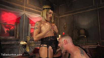 Photo number 5 from TS Foxxy Teases and Fucks D Arclyte shot for TS Seduction on Kink.com. Featuring TS Foxxy and D. Arclyte in hardcore BDSM & Fetish porn.
