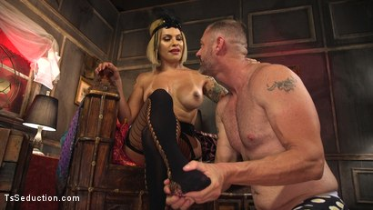Photo number 7 from TS Foxxy Teases and Fucks D Arclyte shot for TS Seduction on Kink.com. Featuring TS Foxxy and D. Arclyte in hardcore BDSM & Fetish porn.