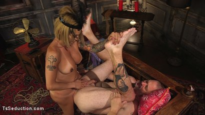 Photo number 8 from TS Foxxy Teases and Fucks D Arclyte shot for TS Seduction on Kink.com. Featuring TS Foxxy and D. Arclyte in hardcore BDSM & Fetish porn.