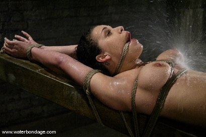 Photo number 3 from The Sarge meets Mia Bangg shot for Water Bondage on Kink.com. Featuring Mia Bangg in hardcore BDSM & Fetish porn.