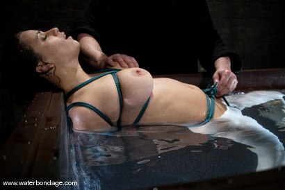 Photo number 14 from The Sarge meets Mia Bangg shot for Water Bondage on Kink.com. Featuring Mia Bangg in hardcore BDSM & Fetish porn.