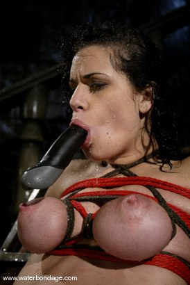Photo number 8 from The Sarge meets Mia Bangg shot for Water Bondage on Kink.com. Featuring Mia Bangg in hardcore BDSM & Fetish porn.