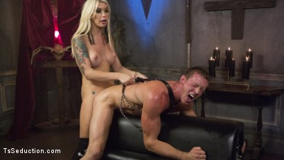 Photo number 19 from Sister Aubrey Kate Punishes Priest Pierce Paris shot for TS Seduction on Kink.com. Featuring Pierce Paris and Aubrey Kate in hardcore BDSM & Fetish porn.