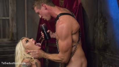 Photo number 20 from Sister Aubrey Kate Punishes Priest Pierce Paris shot for TS Seduction on Kink.com. Featuring Pierce Paris and Aubrey Kate in hardcore BDSM & Fetish porn.