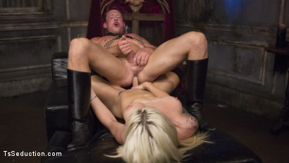 Photo number 23 from Sister Aubrey Kate Punishes Priest Pierce Paris shot for TS Seduction on Kink.com. Featuring Pierce Paris and Aubrey Kate in hardcore BDSM & Fetish porn.