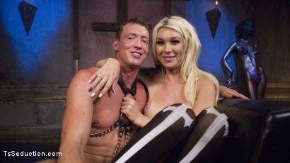 Photo number 28 from Sister Aubrey Kate Punishes Priest Pierce Paris shot for TS Seduction on Kink.com. Featuring Pierce Paris and Aubrey Kate in hardcore BDSM & Fetish porn.