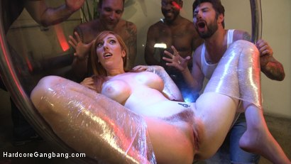 Photo number 5 from All Natural Redhead Lauren Phillips Dominated: Double Anal Gang Bang! shot for Hardcore Gangbang on Kink.com. Featuring Lauren Phillips, John Johnson, Alex Legend, Mr. Pete, Tommy Pistol and John Strong in hardcore BDSM & Fetish porn.