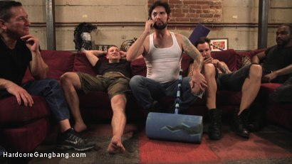 Photo number 2 from All Natural Redhead Lauren Phillips Dominated: Double Anal Gang Bang! shot for Hardcore Gangbang on Kink.com. Featuring Lauren Phillips, John Johnson, Alex Legend, Mr. Pete, Tommy Pistol and John Strong in hardcore BDSM & Fetish porn.
