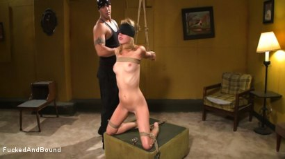Photo number 1 from Lexi Belle Gets Bound Obedience Training shot for Fucked and Bound on Kink.com. Featuring Lexi Belle and Derrick Pierce in hardcore BDSM & Fetish porn.