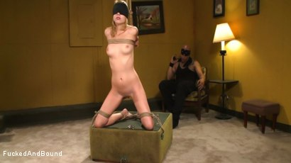 Photo number 2 from Lexi Belle Gets Bound Obedience Training shot for Fucked and Bound on Kink.com. Featuring Lexi Belle and Derrick Pierce in hardcore BDSM & Fetish porn.