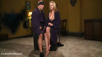 Photo number 24 from Lexi Belle Gets Bound Obedience Training shot for Fucked and Bound on Kink.com. Featuring Lexi Belle and Derrick Pierce in hardcore BDSM & Fetish porn.