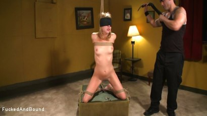 Photo number 4 from Lexi Belle Gets Bound Obedience Training shot for Fucked and Bound on Kink.com. Featuring Lexi Belle and Derrick Pierce in hardcore BDSM & Fetish porn.