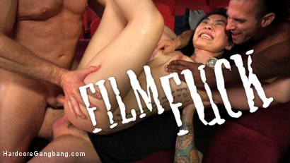 FILM FUCK: Nari Park Cums Repeatedly As She's Slammed In Every Hole