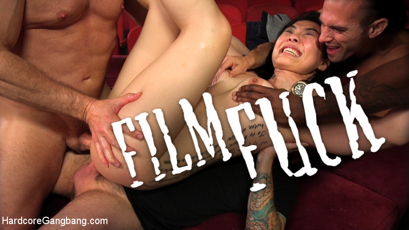 Download HardcoreGangbang.com - FILM FUCK: Nari Park Cums Repeatedly As She's Slammed In Every Hole