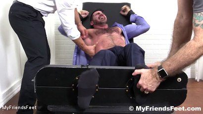 Photo number 4 from Billy Santoro Tickled Naked shot for My Friends Feet on Kink.com. Featuring Billy Santoro, Ricky Larkin and Rich in hardcore BDSM & Fetish porn.