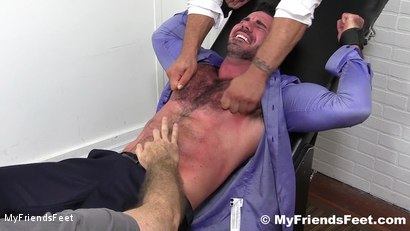 Photo number 5 from Billy Santoro Tickled Naked shot for My Friends Feet on Kink.com. Featuring Billy Santoro, Ricky Larkin and Rich in hardcore BDSM & Fetish porn.