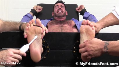 Photo number 8 from Billy Santoro Tickled Naked shot for My Friends Feet on Kink.com. Featuring Billy Santoro, Ricky Larkin and Rich in hardcore BDSM & Fetish porn.