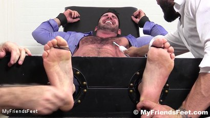 Photo number 9 from Billy Santoro Tickled Naked shot for My Friends Feet on Kink.com. Featuring Billy Santoro, Ricky Larkin and Rich in hardcore BDSM & Fetish porn.