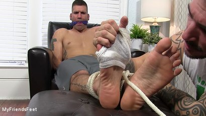 Photo number 6 from Johnny Foot Fucks Caleb shot for My Friends Feet on Kink.com. Featuring Caleb Troy and Johnny Hazzard in hardcore BDSM & Fetish porn.