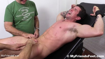 Photo number 11 from Trenton Ducati Bound & Tickle Tormented shot for My Friends Feet on Kink.com. Featuring Trenton Ducati, Rich and Lance Hart in hardcore BDSM & Fetish porn.