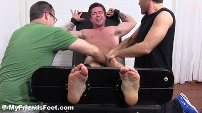 Photo number 15 from Trenton Ducati Bound & Tickle Tormented shot for My Friends Feet on Kink.com. Featuring Trenton Ducati, Rich and Lance Hart in hardcore BDSM & Fetish porn.