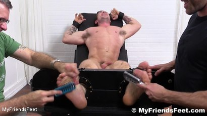 Photo number 16 from Trenton Ducati Bound & Tickle Tormented shot for My Friends Feet on Kink.com. Featuring Trenton Ducati, Rich and Lance Hart in hardcore BDSM & Fetish porn.