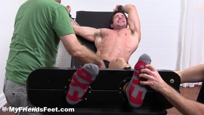 Photo number 3 from Trenton Ducati Bound & Tickle Tormented shot for My Friends Feet on Kink.com. Featuring Trenton Ducati, Rich and Lance Hart in hardcore BDSM & Fetish porn.