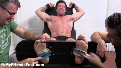 Photo number 5 from Trenton Ducati Bound & Tickle Tormented shot for My Friends Feet on Kink.com. Featuring Trenton Ducati, Rich and Lance Hart in hardcore BDSM & Fetish porn.