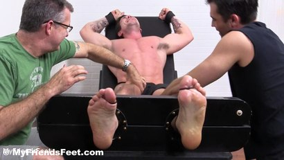 Photo number 6 from Trenton Ducati Bound & Tickle Tormented shot for My Friends Feet on Kink.com. Featuring Trenton Ducati, Rich and Lance Hart in hardcore BDSM & Fetish porn.