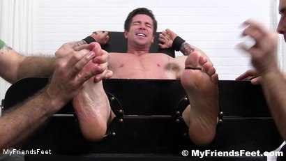 Photo number 9 from Trenton Ducati Bound & Tickle Tormented shot for My Friends Feet on Kink.com. Featuring Trenton Ducati, Rich and Lance Hart in hardcore BDSM & Fetish porn.