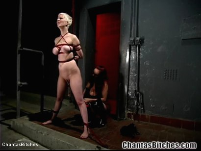 Photo number 3 from Mz. Berlin's Sex-Slave Training of Cherry Torn shot for Chantas Bitches on Kink.com. Featuring Cherry Torn and Mz Berlin in hardcore BDSM & Fetish porn.